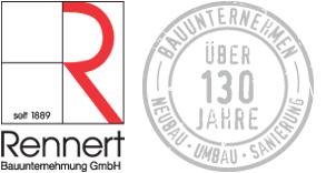 Rennert Bauunternehmen Logo