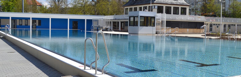 Schwimmbad Header